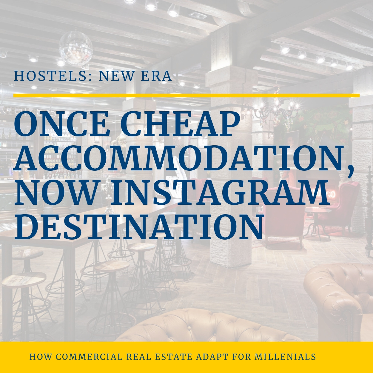 Hostels commercial real estate